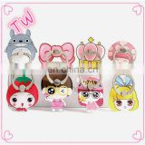 Venezuela Best selling Products gift promotional cute fancy plastic desk cartoon phone finger holder for women
