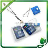 PVC SD card holder cell phone chain