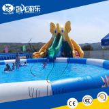 inflatable square pool,giant inflatable pool slide for adult,used swimming pool slide