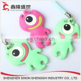 china direct factory 3d custom design embossed promotionalsoft silicone rubber key label tags