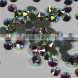 Wholesale new Crystal AB flatback hotfix rhinestone transfers for dress bags very beautiful