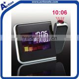 Projection Digital Clock with Color LCD Display
