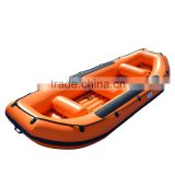 Inflatable boat for fishing