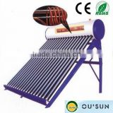 Compact Copper Coil Pressurized Solar Hot Water Geysers