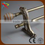 Decorative luxury curtain rods shower curtain rods
