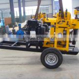 portale drilling rig HF130 high quality practical water well drilling rig 80m,100m,130m,geothermal drilling rig
