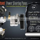 Hot selling power steering pump applied for Opel ASTRA F 1.4 /1.6 VECTRA A 948040/41/46/46P/62