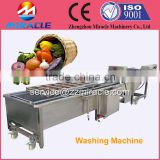 Stainless steel fruits and vegetable cleaning machine accord with the food industry standard