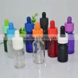 fast delivery 20ml red glass bottle with childproof cap, 20 ml e liquid glass bottle red