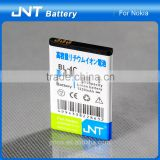 OEM service offer high capacity dual IC mobile phone battery BL-4C for Nokia