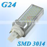 Downlight LED G24 SMD 3014 6W PLC LED Corn Light 55 LEDs