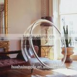 hot sell swing or hanging clear acrylic bubble chair