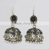 Excellent Oxidized 925 Sterling Silver Earring, Sterling Silver Jewellery, Indian Silver Jewellery