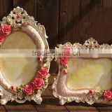 Wooden Photo frame hot selling 2014 new design, wood photo collage frame, picture frame moulding for women's use