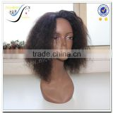 Wholesale Fast Delivery High Quality Brazilian Kinky Cyrly 100% Virgin Human Hair Afro Kinky Full Lace Wigs