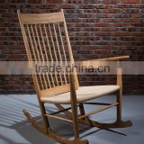 New design Antique wooden heavy duty rocking chairs high quality outdoor furniture