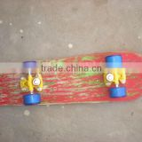 Skateboard Wooden with Plastic Wheels