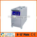 Stainless steel restaurant plate warmer cart with 8-12''warmer plates and CE power 800 (SY-PW900B SUNRRY)