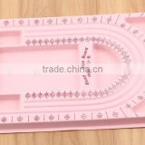 Look!! Top Quality fashion wholesale pink jewelry Tools ,Beading Tray Bead Trays Stringing bead design board