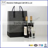 Fashion Felt Double Wine Gift Bag