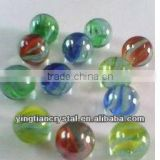 High quality transparent glass marble ball