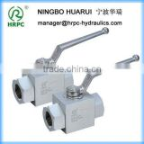 HRPC brand threaded connector steel ball valves