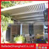 hot sale motorized opening aluminum louver roof                                                                         Quality Choice