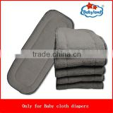 Super Quality Bamboo Charcoal Inserts liners For Pocket Cloth Diapers Pads Bamboo Charcoal Inserts                                                                         Quality Choice