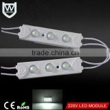 AC led module type 1.5w 220v directly connect not need power supply SMD 5730 led module ac 220v for lighting box