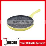 22cm Marble Coated Frying Pan/High Quality Fry Pan with Induction