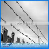 low price electro galvanized iron wire/stainless steel barbed wire wholesale/barbed wire 100% true factory