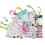 High quality portable pull out bag for disposable baby bib and placemat table topper