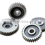 gear wheels for air compressor accessory high precision aluminium gear aluminum toothed spur gear