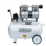 dental air compressor/ silent air compressor/portable air compressor 750w/1HP 100L/MIN 24L