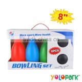 Plastic Toy Kids Bowling Ball, 8 Inch Sporting bowling toys