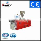 Trinity Good Quality single/twin Screw Extruder, PVC/PP/WPC Extruder, Plastic sheet/panel/film profile China supplier