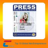 Plastic facebook id card / School student photo id card / Business employee id card from id card maker