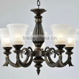 Hot selling wholesale decorative black chandelier