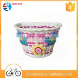 bicycle basket bracket/child front bicycle basket/PP PVC bike baskets