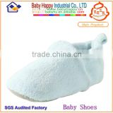 dropship China cheap beautiful snow plain white baby boots