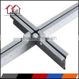 Metal suspended ceiling framing of T bar/ plain tee T grid