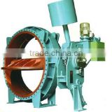 Water Turbine Inlet Pressure Self-maintaining hydraulic operated Butterfly Valve