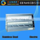 Humidity convection buffet food warmer for hot food server with 6 trays food display warmer counter with price (SUNRRY SY-WD6B)                                                                         Quality Choice