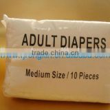 Disposable incontinent wet indicator adult diaper