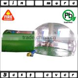 customized commercial bubble tent black bottom for sale                                                                                                         Supplier's Choice