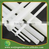 ABS plastic white scale model rod top sale 5mm