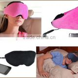 Sleeping Headband with earphones Noise Cancelling Stereo Speaker Handsfree for Running,Air Travel