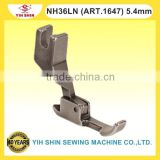 Industrial Sewing Machine Parts NECCHI Machine Compensatore Feet Single Needle NH36LN (ART.1647) 5.4mm Presser Feet