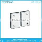 Everstrong glass hardware ST-A022 square 360 degree bevel double bathroom clamp or shower hinge