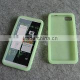 Glow in the dark silicon case for Blackberry Z10, competitive price